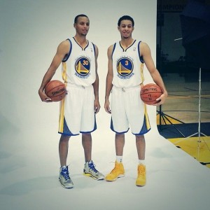 Seth and Steph Curry