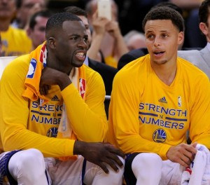 Draymond Green & Steph Curry