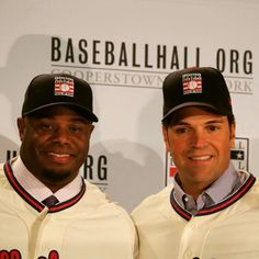 Griffey Jr & Mike Piazza