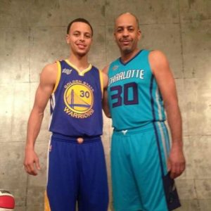 Steph and Dell Curry