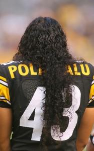Troy polamalu hair commercial